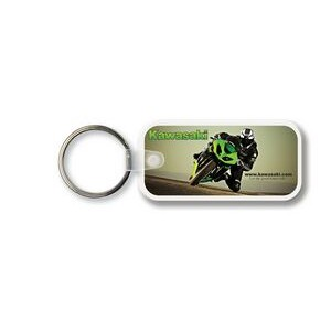Key Tag - Large Rectangle w/Rounded Corners - Full Color